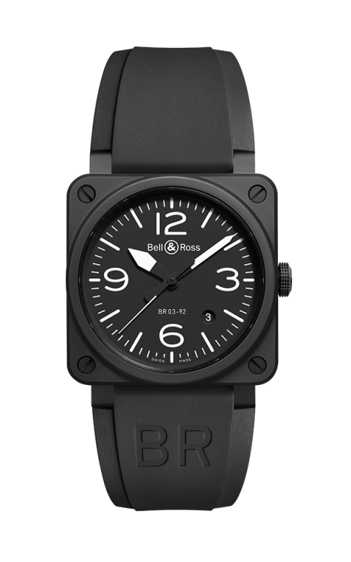 Bell and Ross BR 03-92 Watch BR03-92 Black Matte Ceramic product image