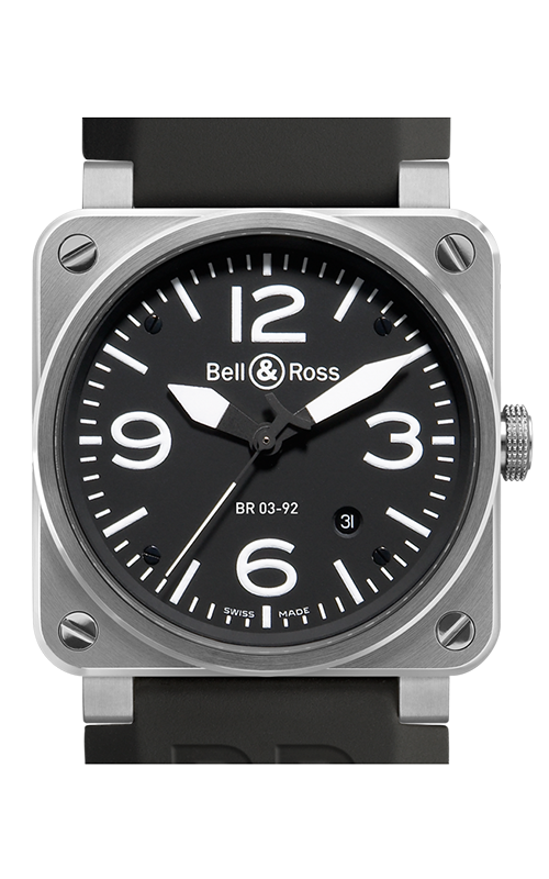 Bell and Ross BR 03-92 Watch BR03-92 Steel product image