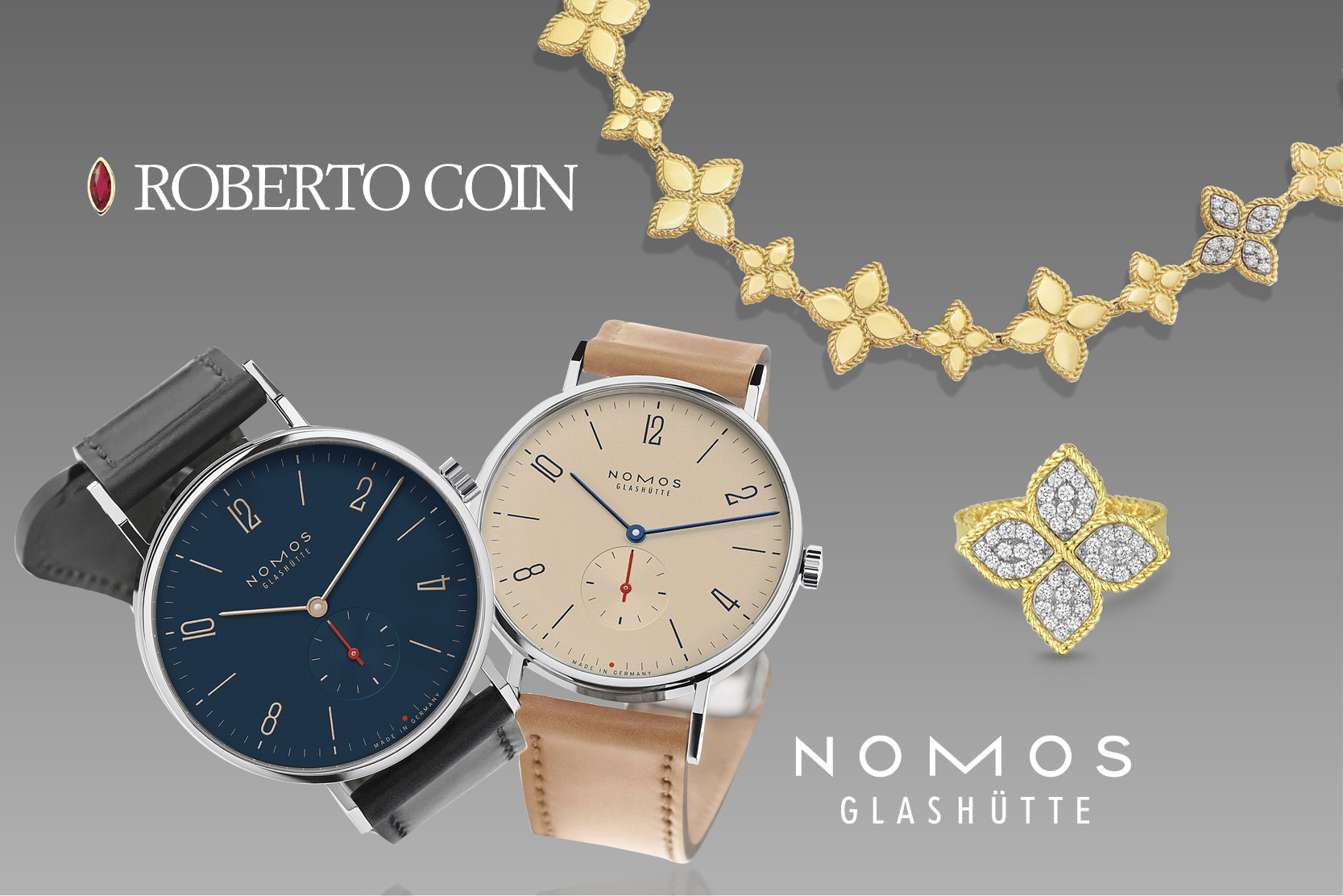 Watch & Scotch featuring Nomos and Roberto Coin