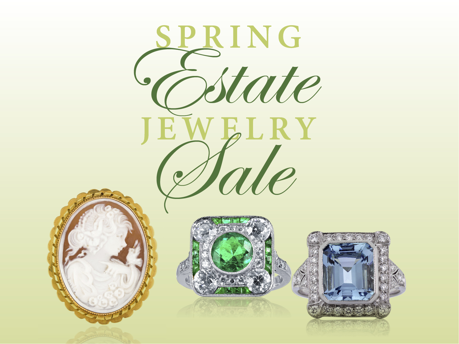 Spring Estate Jewelry Sale