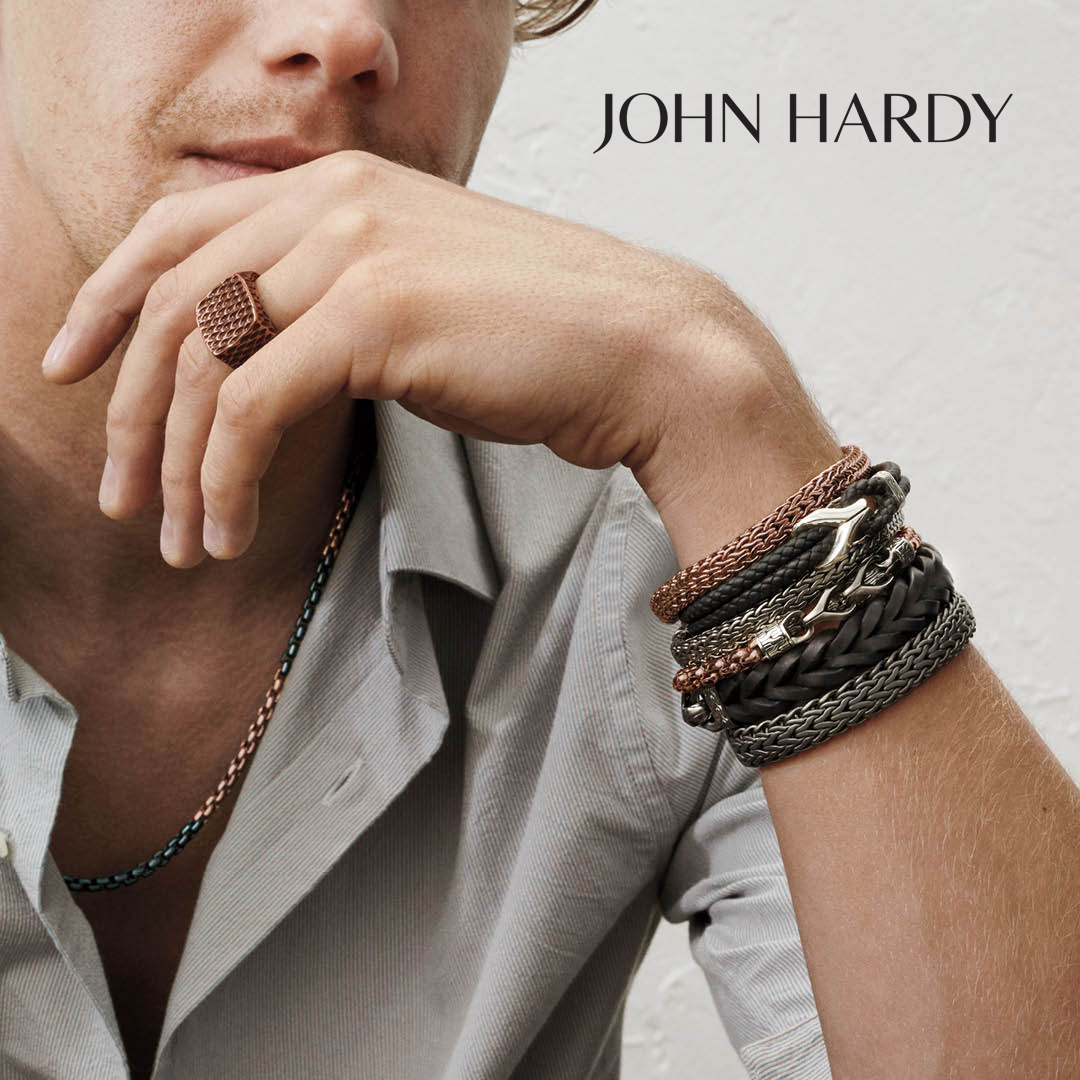 Real men do wear jewelry...tips on how to start and do it right