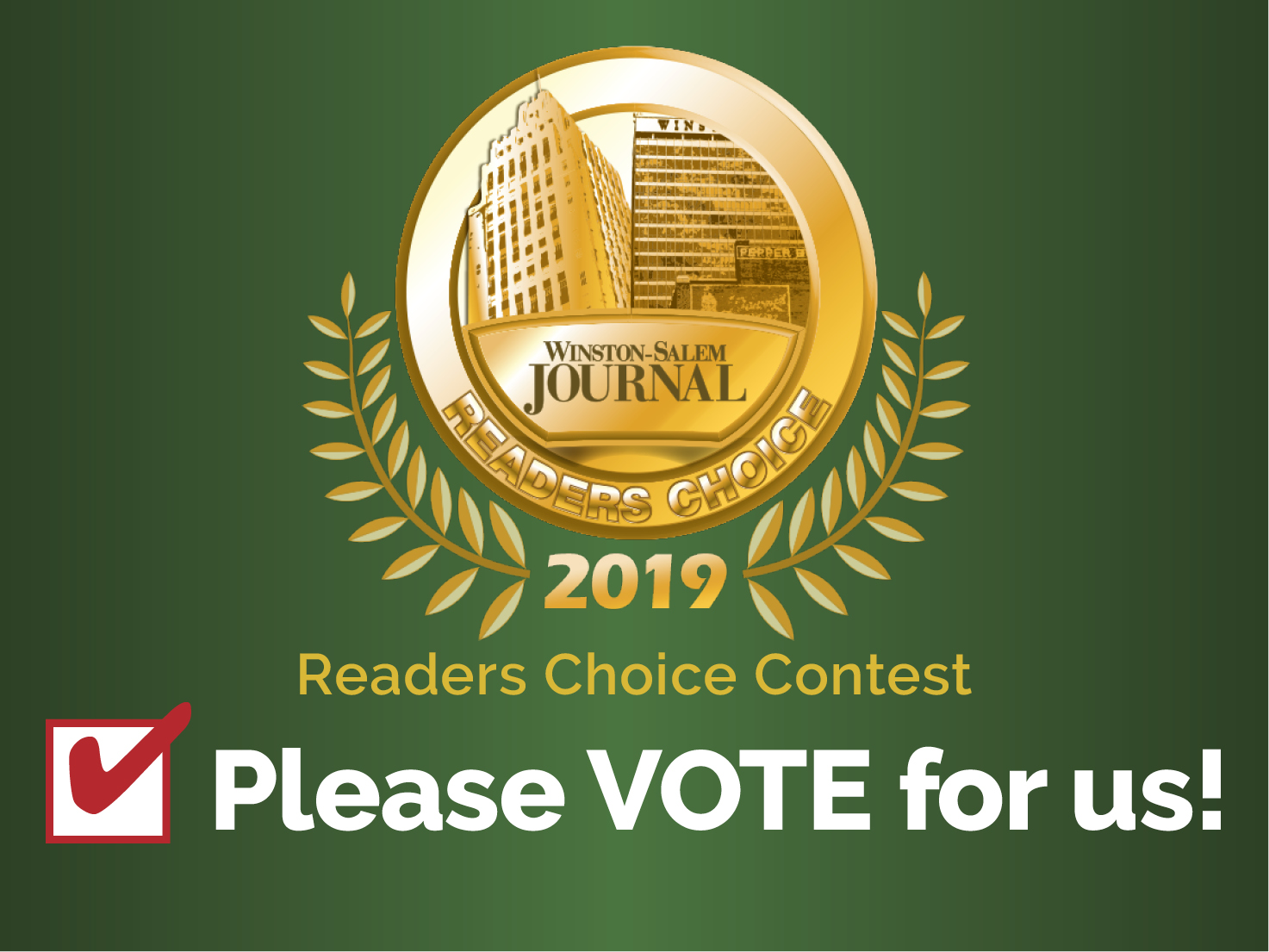 WS Journal 2019 Readers Choice Contest