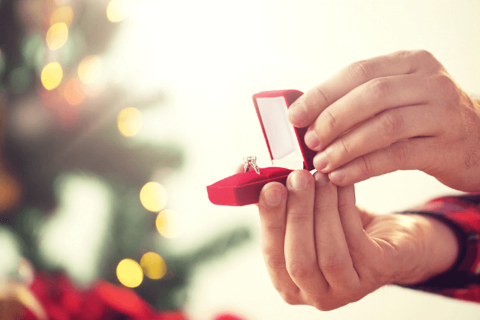 Getting engaged for the holidays