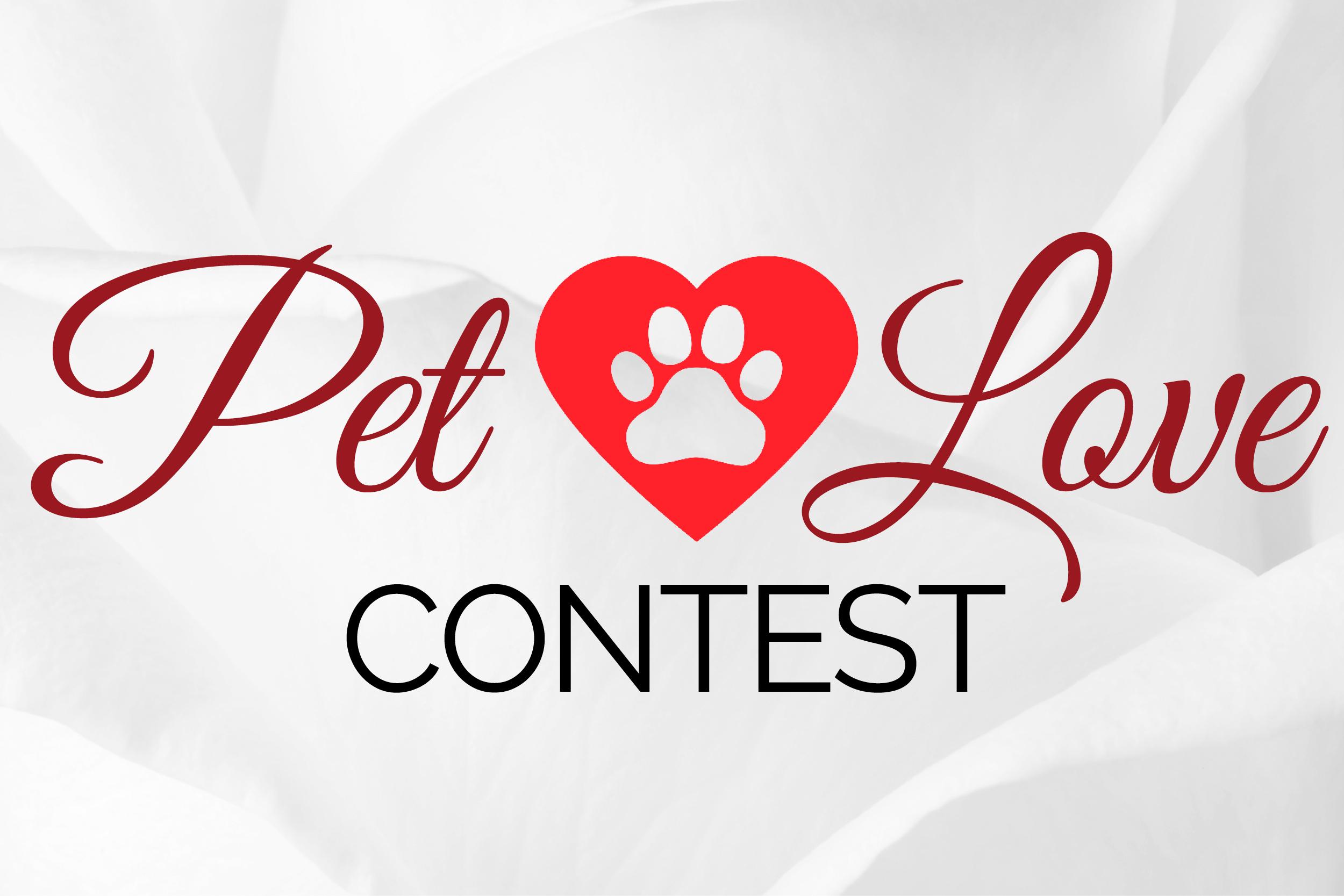 Pet Love Social Media Contest