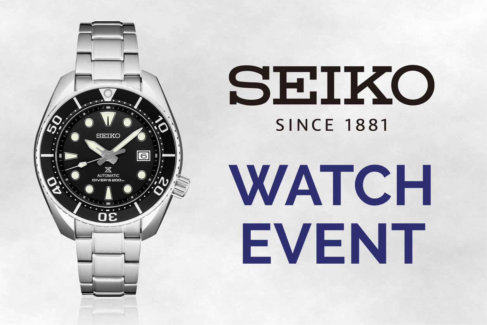 Seiko Watch & Scotch Event
