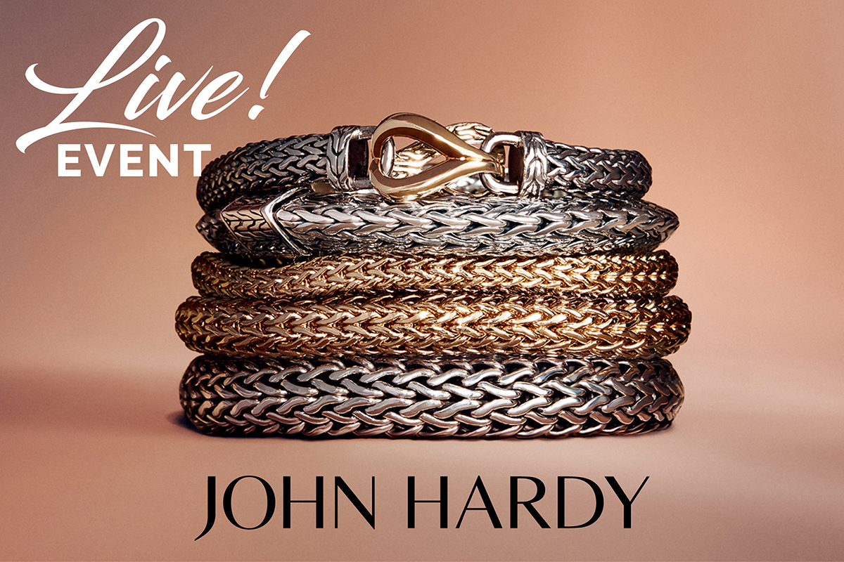 Facebook LIVE with John Hardy jewelry!
