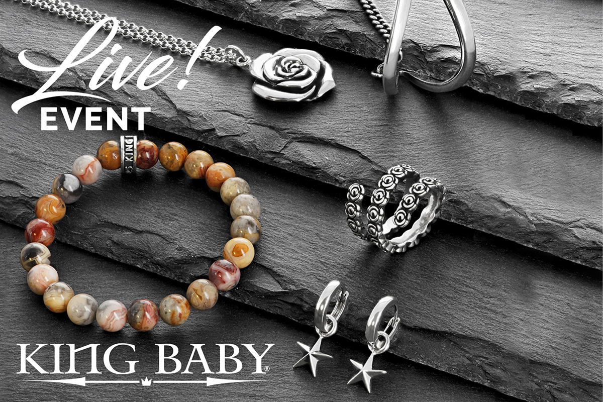 LIVE with King Baby Jewelry!
