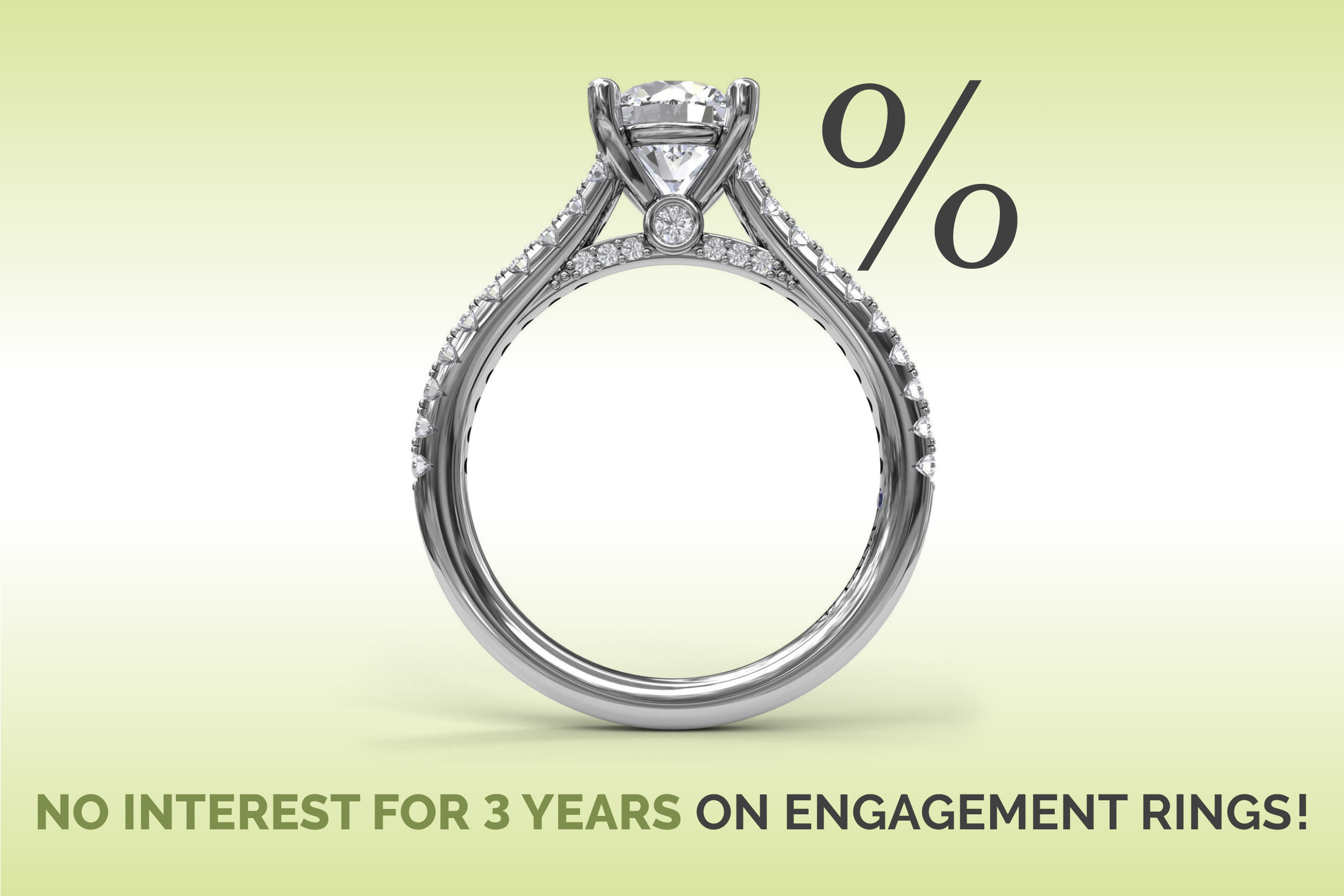 Special Financing on Engagement Rings