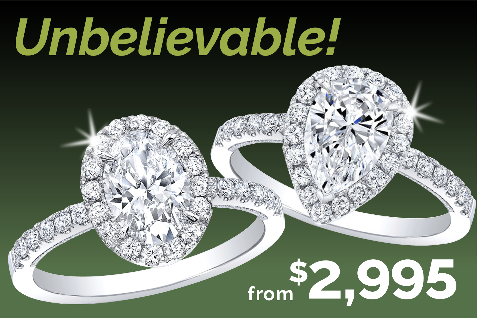 Unbelievable Pricing on Engagement Rings!