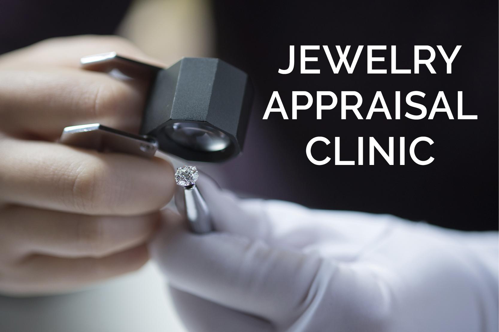 Jewelry Appraisal Clinic in Winston-Salem