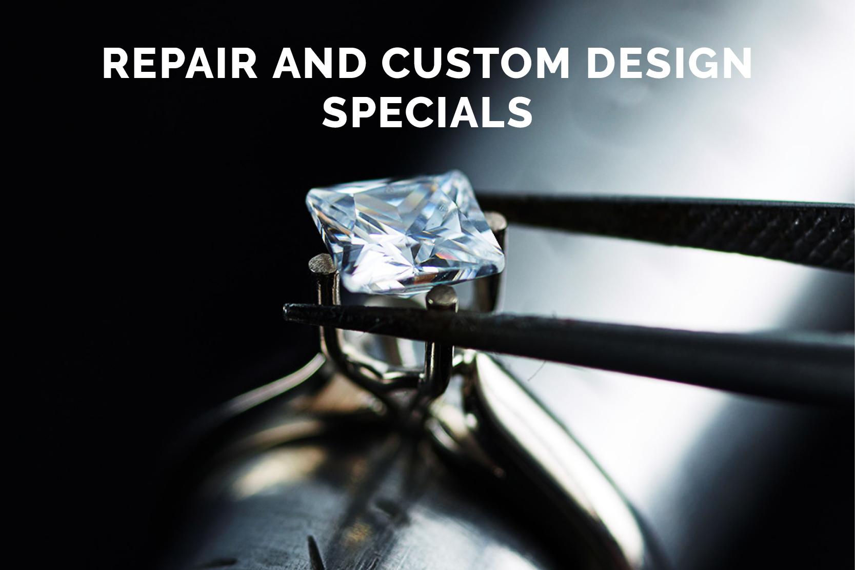 Jewelry Repair and Custom Design Month